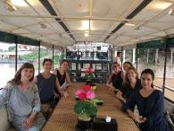 a cruise along the Saigon